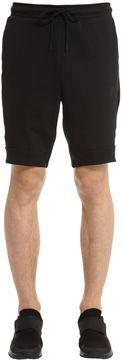 Logo Detail Cotton Blend Sweat Shorts