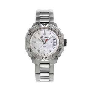 Alpina Seastrong Mother-of-Pearl Dial Stainless Steel Watch