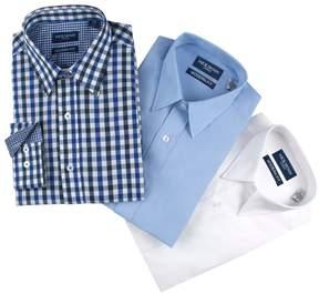DAY Birger et Mikkelsen Men's Nick Dunn 3-pack Modern-Fit Dress Shirts