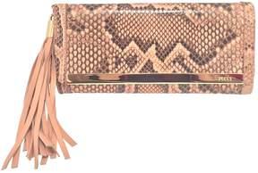 Emilio Pucci Pink Python Clutch Bag