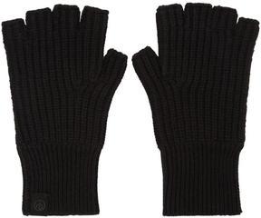 Rag & Bone Black Cashmere Ace Gloves
