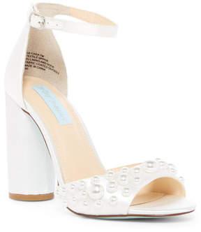 Betsey Johnson Cara Ankle Strap Sandal
