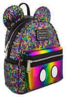 Disney Mickey Mouse Rainbow Mini Backpack by Loungefly