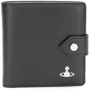 Vivienne Westwood logo plaque bifold wallet