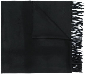 Max Mara frayed scarf