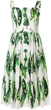 Dolce & Gabbana Pea print sundress