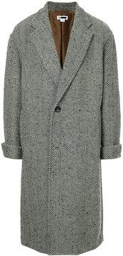 H Beauty&Youth long herringbone coat
