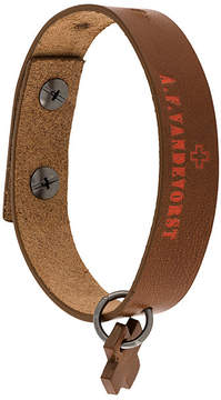 A.F.Vandevorst logo bracelet