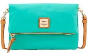 Dooney & Bourke Miramar Foldover Zip Crossbody Shoulder Bag - MINT - STYLE