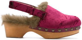 Mou lined clogs