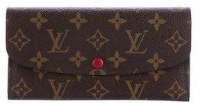 Louis Vuitton Monogram Emilie Wallet - BROWN - STYLE