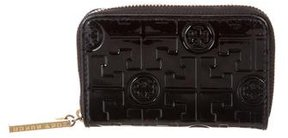 Tory Burch Logo Coin Pouch - BLACK - STYLE