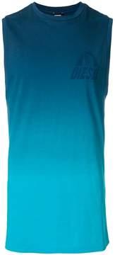 Diesel gradient logo vest