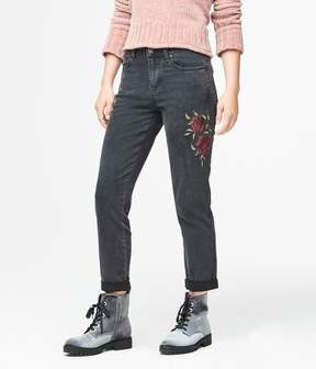 Aeropostale Mid-Rise Girlfriend Jean