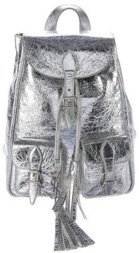 Saint Laurent 2016 Small Festival Backpack - SILVER - STYLE