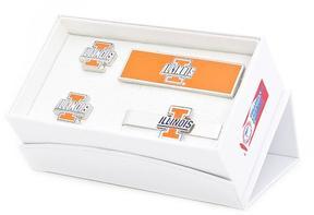 Ice University of Illinois Fighting Illini 3-Piece Gift Set