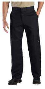 Dickies Men's Relaxed Straight Fit Double Knee Work Pant 34 Ins.