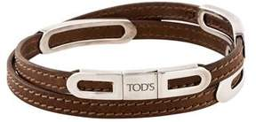 Tod's Rounded Station Wrap Bracelet