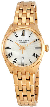 Hamilton Automatic Mother of Pearl Dial Ladies Watch