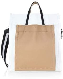 3.1 Phillip Lim Leather Accordion Tote