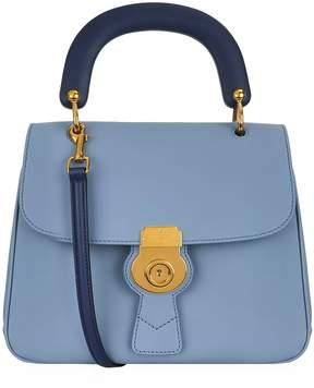 Burberry Medium DK88 Top Handle Bag - BLUE - STYLE