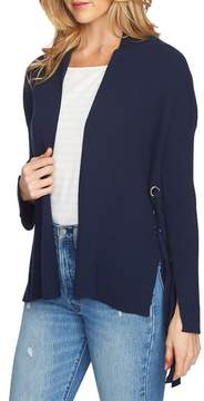 1 STATE 1.STATE Side Lace-Up Cardigan