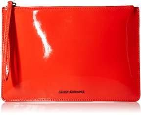 Armani Exchange A X Big Patent Pouch