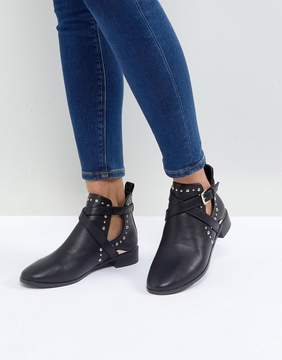Miss KG Seb Studded Flat Boots