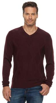 Dockers Men's Classic-Fit Easy-Care V-Neck Sweater
