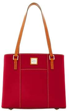 Dooney & Bourke Pebble Grain Small Lexington Shopper Bag - CRANBERRY - STYLE