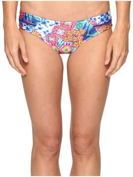 Luli Fama Beautiful Mess Stitched Straps Reversible Moderate Bottom Women's Swimwear