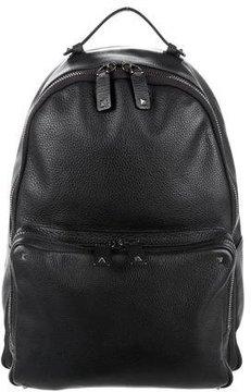 Valentino Rockstud Grain Leather Backpack