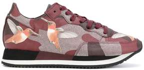 Philippe Model bird print camouflage sneakers