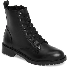Steve Madden Women's Officer Combat Boot