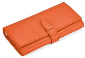 Aspinal of London London Ladies Purse Wallet In Smooth Orange