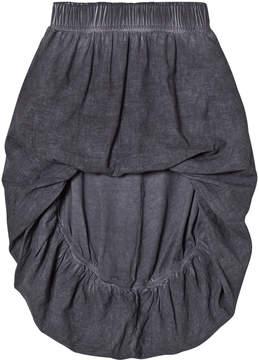Nununu Grey Hi-Low Balloon Skirt