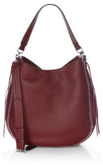 Rebecca Minkoff Unlined Convertible Leather Hobo Bag - ACAI - STYLE