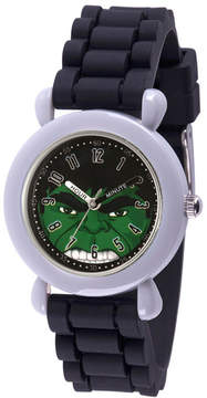 Marvel Avengers Boys Black Strap Watch-Wma000239