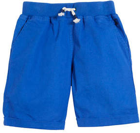 Joules Huey Cotton Drawstring Rolled-Cuff Shorts, Size 3-6