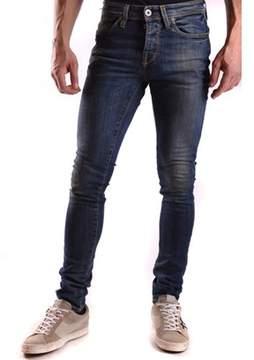 Selected Men's Blue Cotton Jeans.