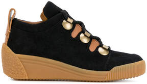 See by Chloe contrast sole sneakers