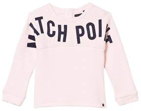 Ikks Pink Match Point Print Sweater