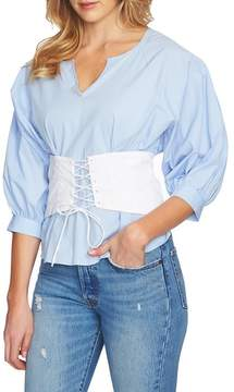 1 STATE 1.STATE Corset Blouson Top
