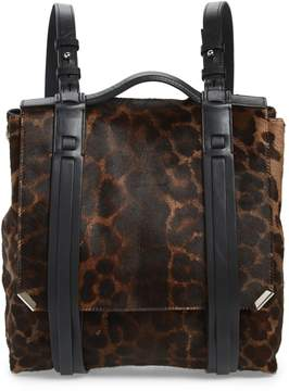 AllSaints Vincent Genuine Calf Hair Backpack