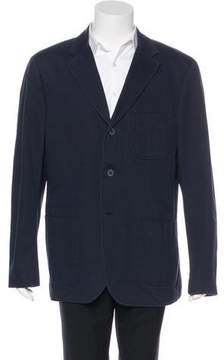 Burberry Three-Button Twill Jacket