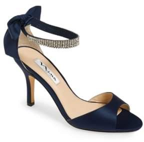 Nina Women's 'Vinnie' Crystal Embellished Ankle Strap Sandal