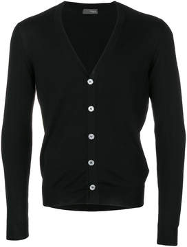 Drumohr long sleeved V-neck cardigan