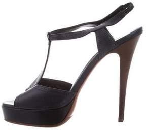 Saint Laurent Platform High-Heel Sandals