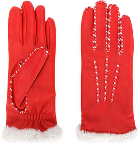Agnelle stitch detail gloves