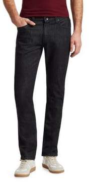 Giorgio Armani Twill Stretch Skinny Jeans
